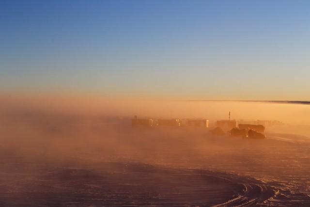 Antarctic mist