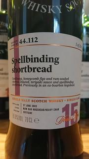 SMWS 44.112 - Spellbinding shortbread