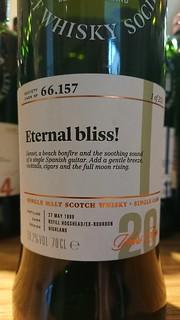 SMWS 66.157 - Eternal bliss!