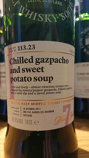 SMWS 113.23 - Chilled gazpacho and sweet potato soup