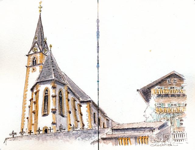 Pfarrkirche Heiligenblut in Österreich