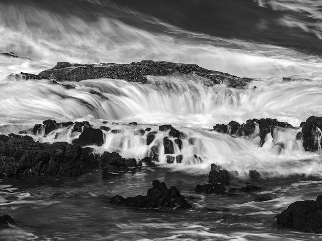 The flooding of Thor's Well