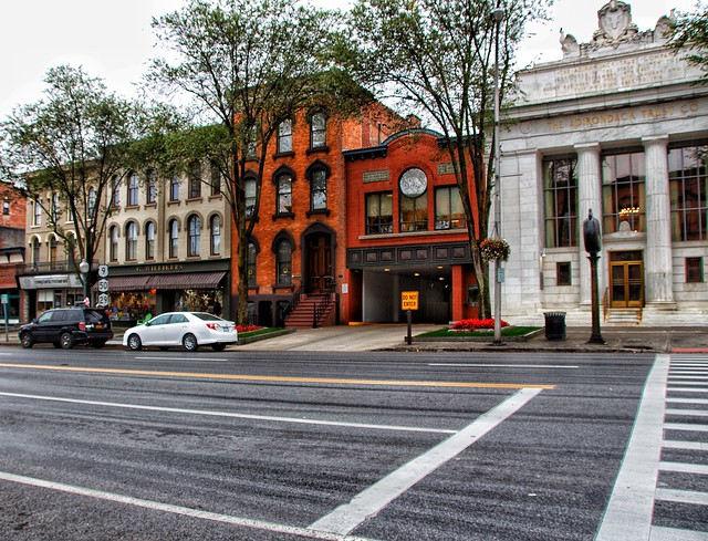 Saratoga Springs New York - The Broadway Historic District  - Business - Commercial  Buildings