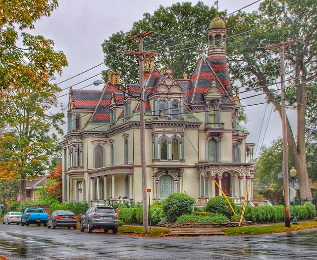 Batcheller Mansion Saratoga Inn ~ Saratoga Springs  New York