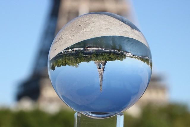 Upside Down Eiffel
