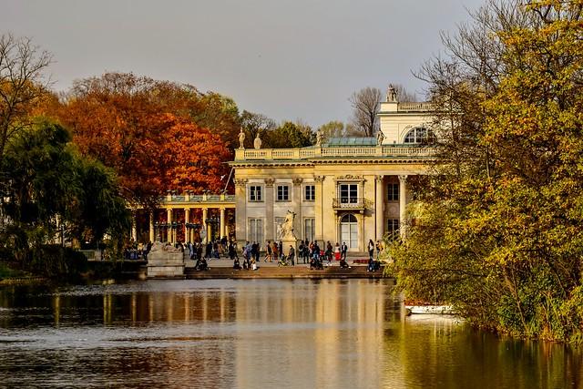 Sunday in the Royal Łazienki Park