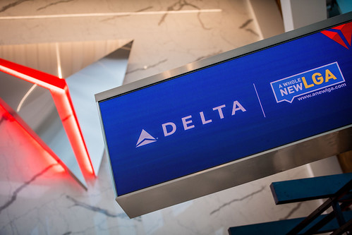 Opening of new Delta terminal at LGA