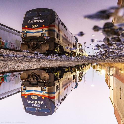 autumncolorsexpress passengertrain amtrak