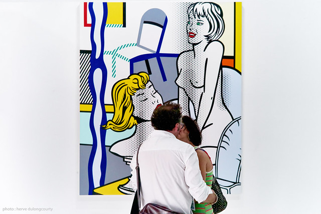 Exhibition ROY LICHTENSTEIN : Nude with Bust 1995