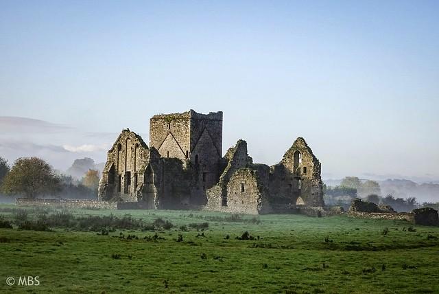 Hore Abbey, a 13th-century Cistercian monastery in Cashel, County Tipperary, Ireland.