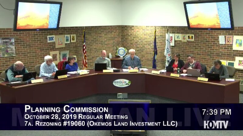 Planning Commission Discusses Rezoning of Mayberry Homes Office