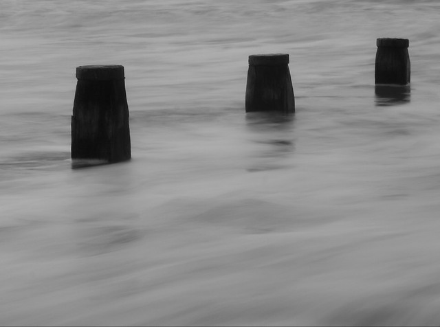 B&W Long Exposure - West Wittering, West Sussex