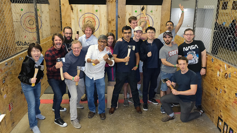 Axe Throwing with Flemings Research Group