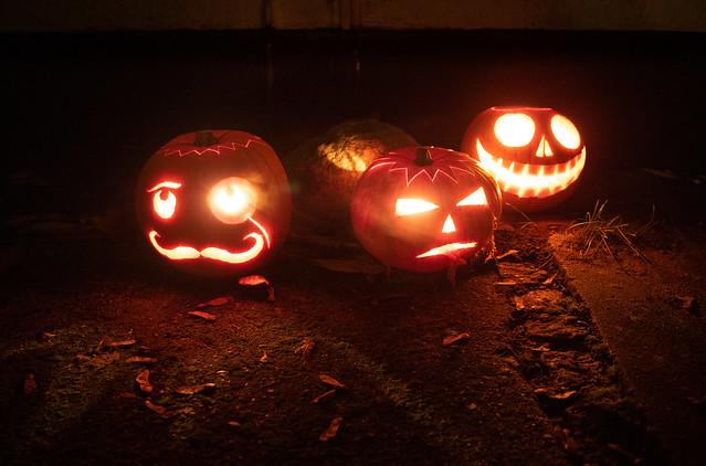 Preparing Halloween (3): Smoke gets in your eyes