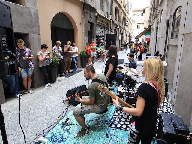 Festa de la musica in Italy