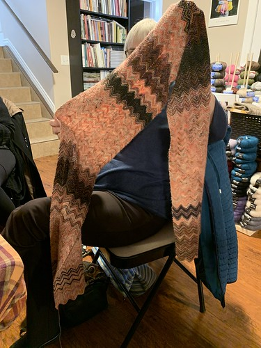 Carol's Zick Zack scarf