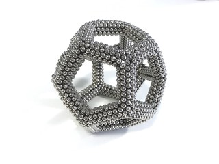 Large curved dodecahedron