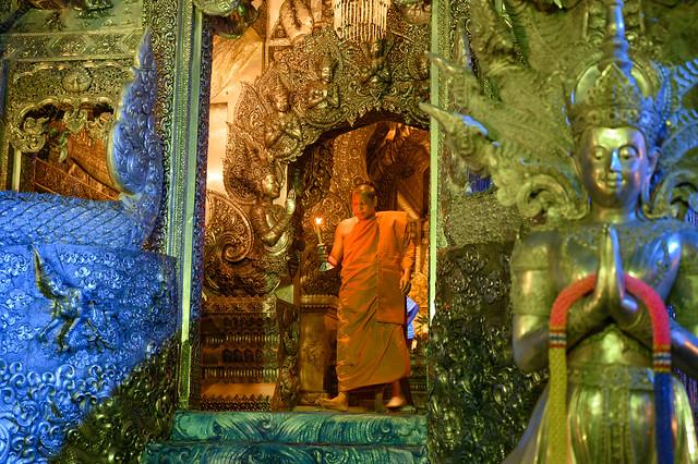 Temple d'argent / Wat Sri Suphan /Thaïland