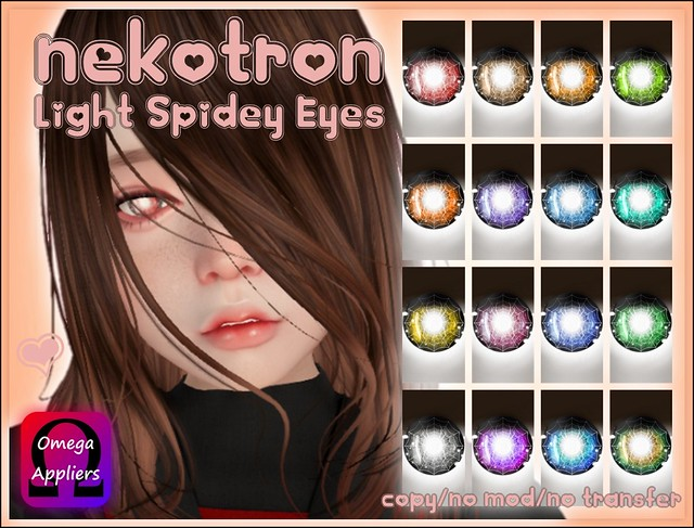 [Nekotron] Light Spidey Eyes (Omega Appliers)