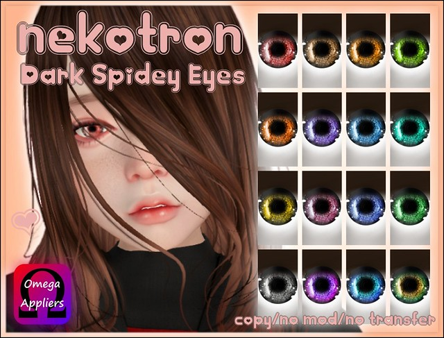 [Nekotron] Dark Spidey Eyes (Omega Appliers)