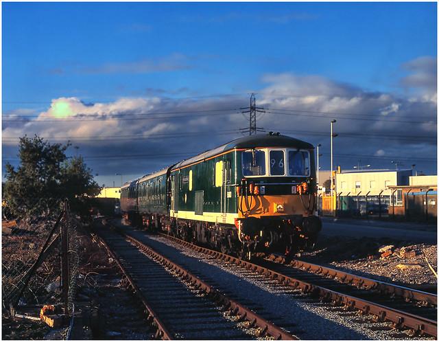 Retro Boat Train Express