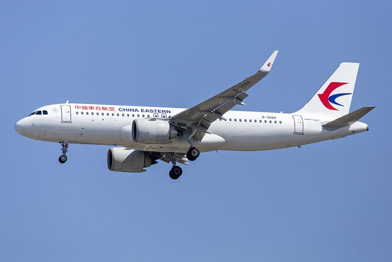 B-308A A320NEO China Eastern Airlines 16-09-19 PEK maarten-sr
