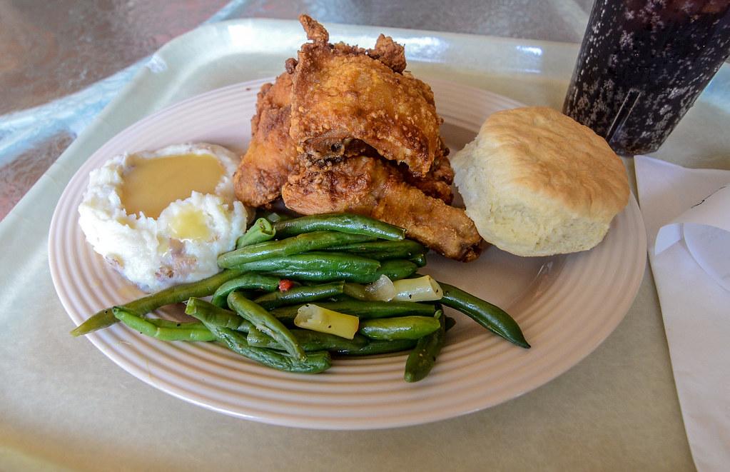Plaza Inn fried chicken DL
