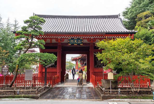 Nitenmon Gate @ Senso-ji