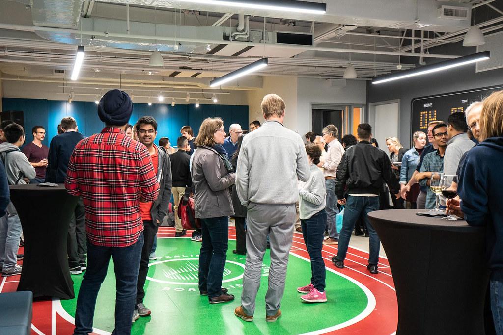 Borealis AI's Waterloo Office Celebration Event