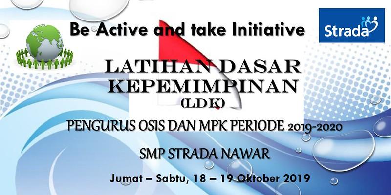 Latihan Dasar Kepemimpinan (LDK) OSIS