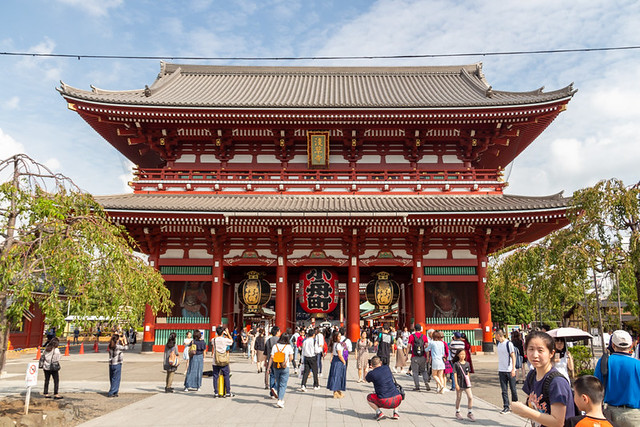 Hozomon Gate @ Senso-ji