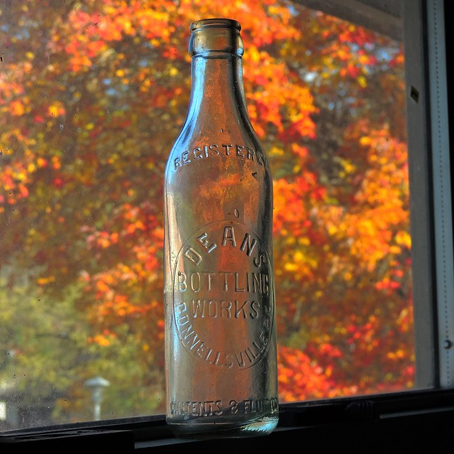 Dean's Bottling Works Soda Bottle