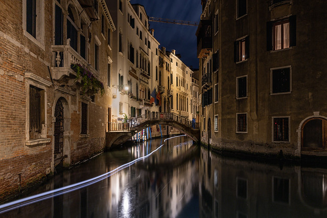 Toujours la nuit autours du Pont du Rialto... III