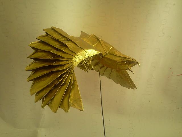 Águila origami
