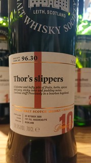SMWS 96.30 - Thor's slippers