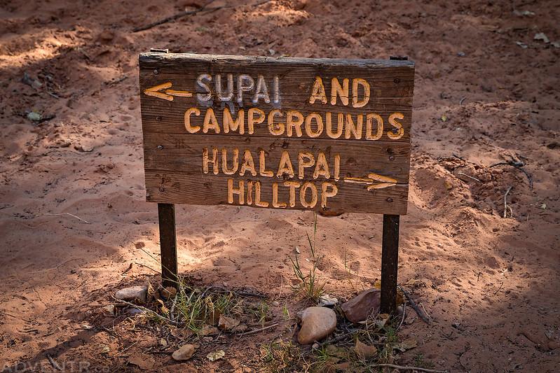 Supai Sign
