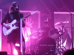 Tue, 10/29/2019 - 10:17pm - Sleater-Kinney at the House of Blues, Boston, MA.  10-29-2019.