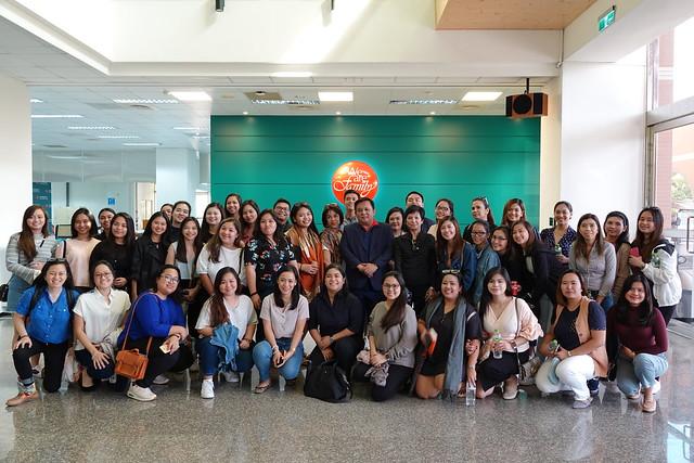 20191024 菲律賓Miriam College師生參訪