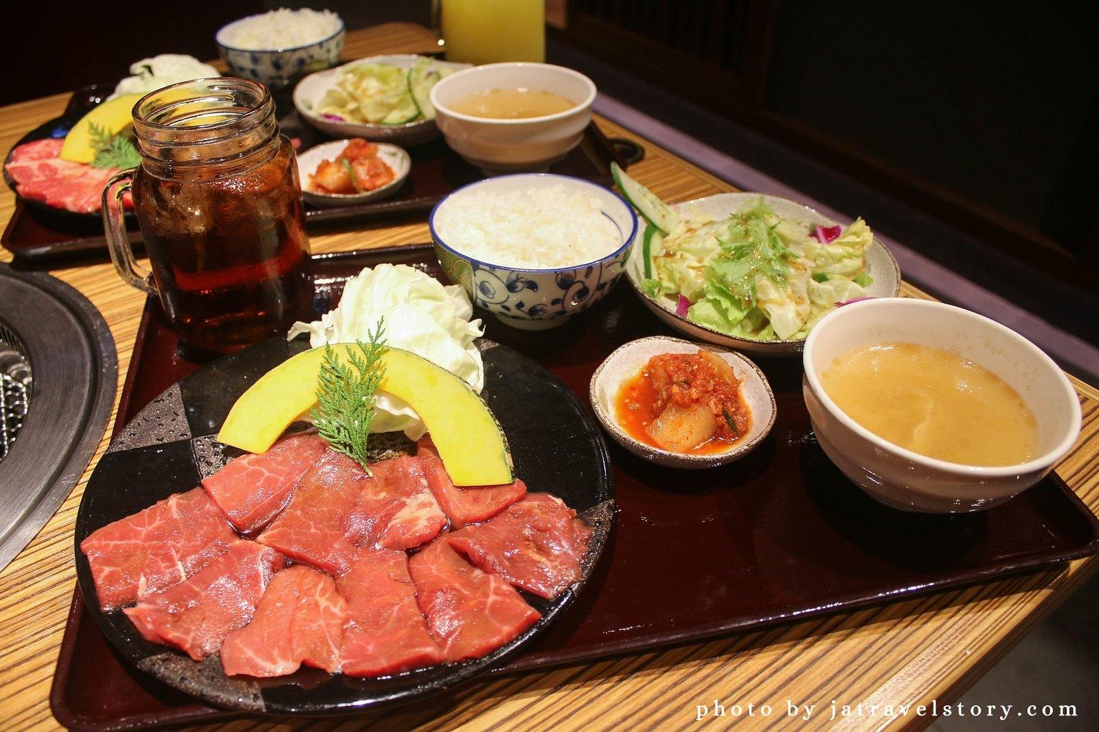 赤虎燒肉 商業午餐只要280元就能吃到燒肉套餐!【內湖美食/內湖聚餐餐廳】 @J&A的旅行