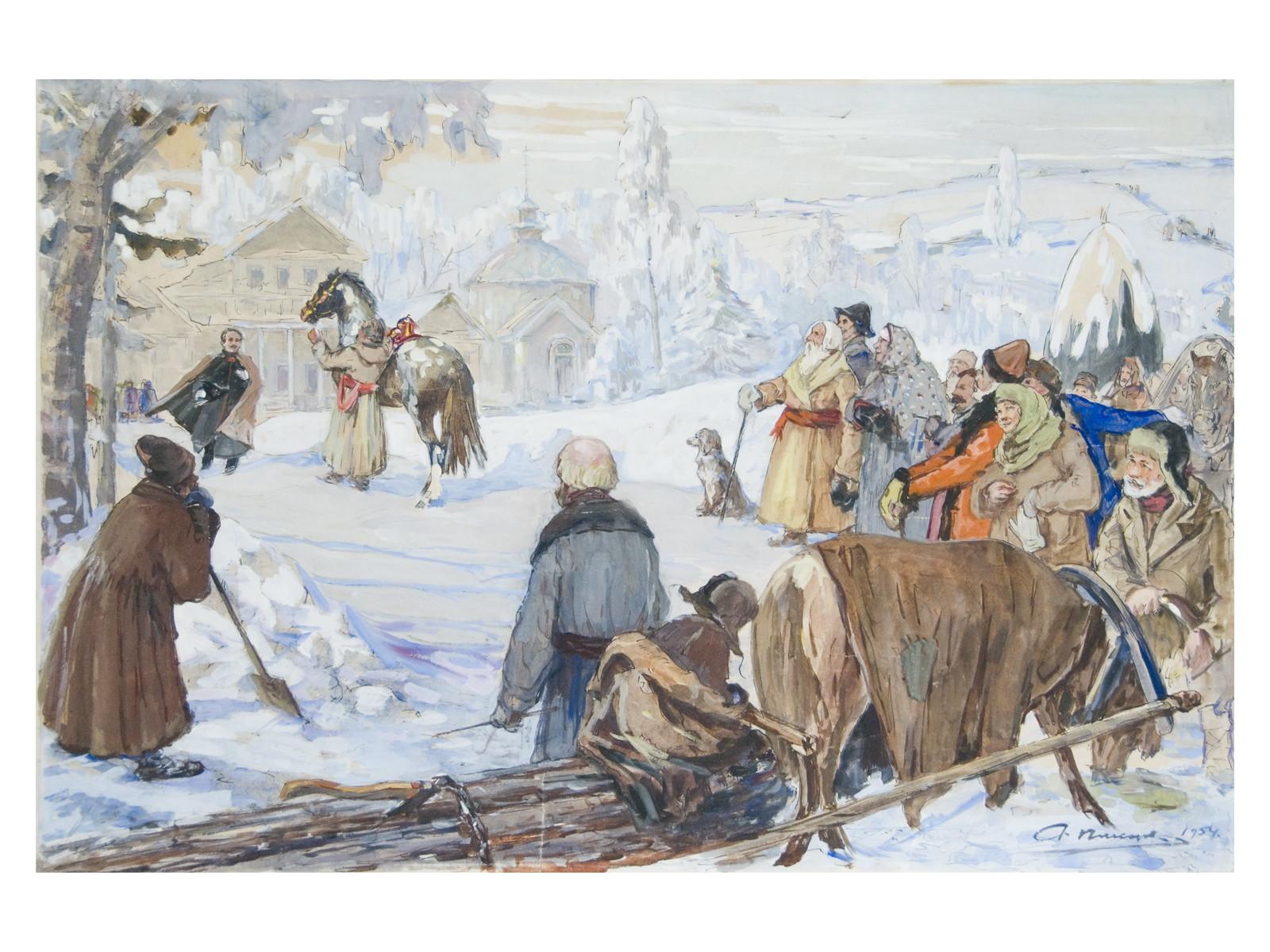 В конюшне музея–заповедника «Тарханы» работает выставка «Конь же лихой не имеет цены…».