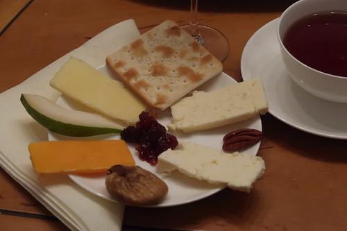 Alles von unserer englischen Käseplatte