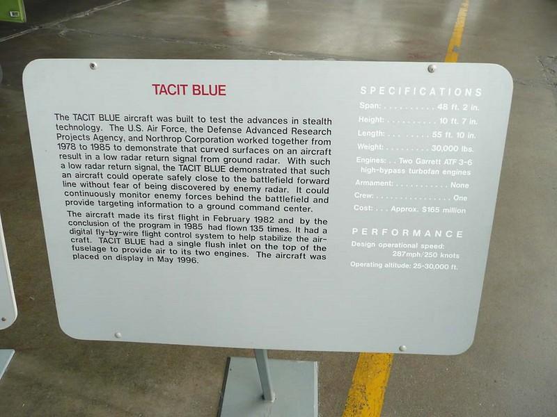 Northrop Tacit Blue 7