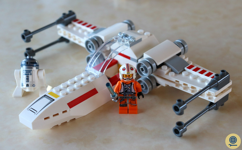 75235 X-wing Starfighter Trench Run (3)