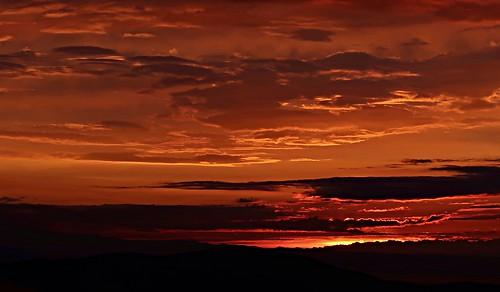 Popocatepetl at sunrise