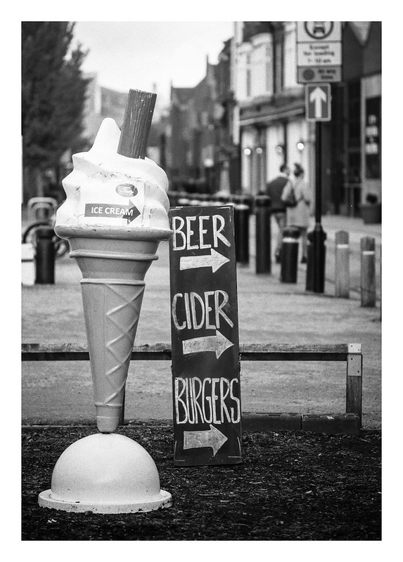 FILM - Beer, cider, burgers (and ice cream)