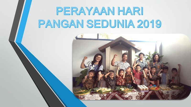 PERAYAAN HARI PANGAN SEDUNIA TAHUN 2019