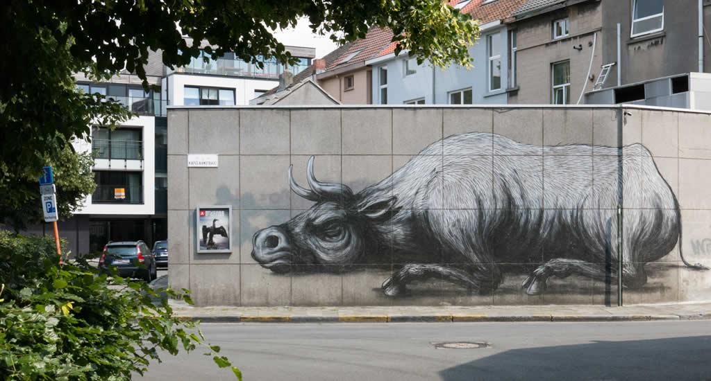 ROA: street art in Gent | Mooistestedentrips.nl