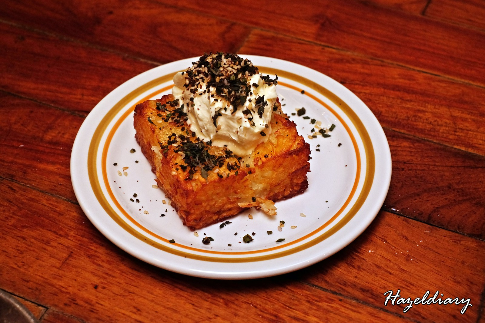 Artichoke by Chef Bjorn Shen-Hashbrowns