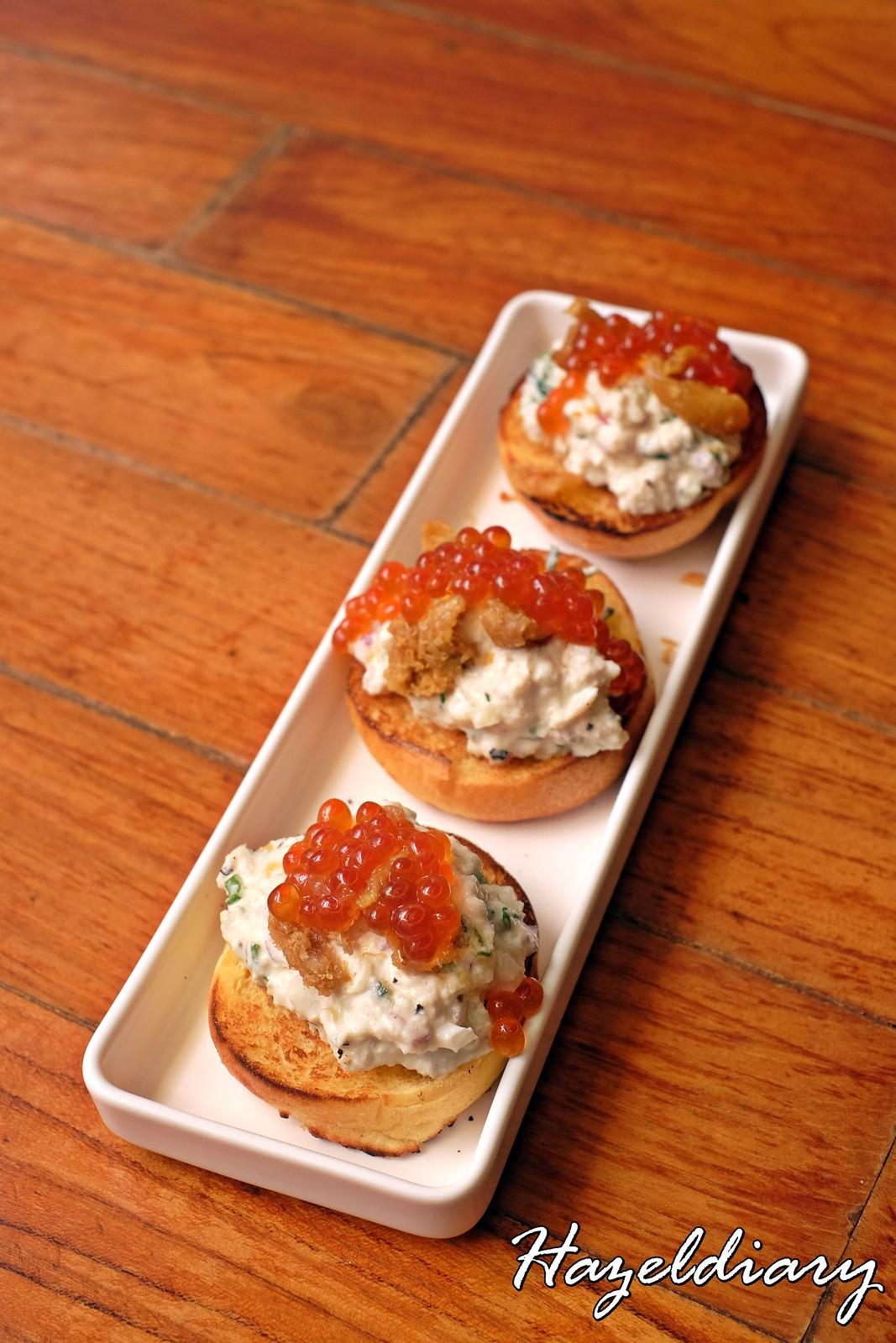 Artichoke by Chef Bjorn Shen-Crab Toast