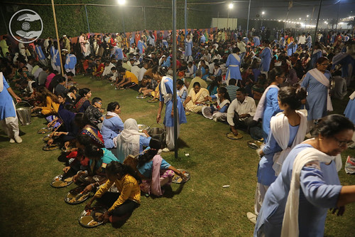 A view of Langar after concluding Diwali Sangat